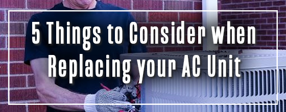 Graphic: 5 things to consider when replacing your AC unit