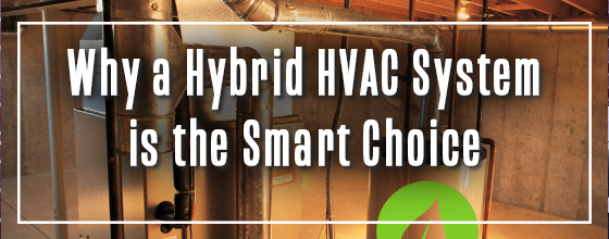 AC system in home with line: Why a Hybrid HVAC system is the smart choice