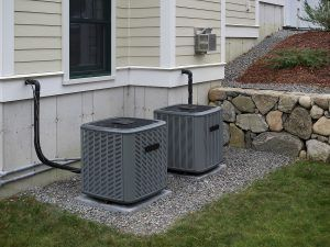 Air conditioner replacement units in Springfield home