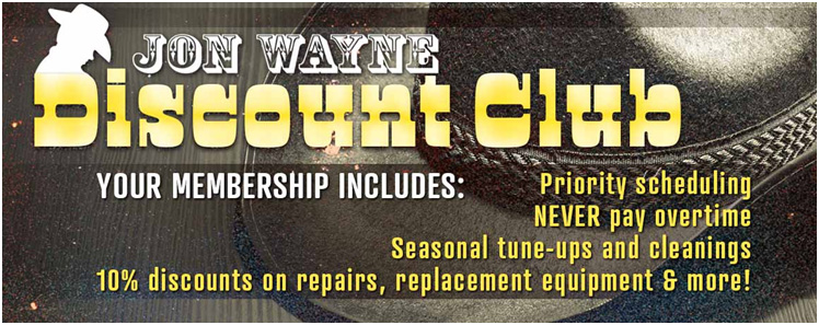 Jon Wayne Discount Club