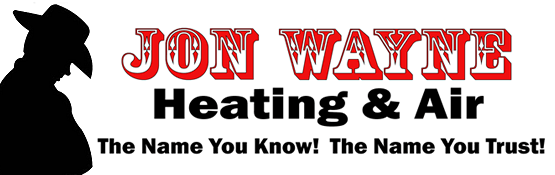 Jon Wayne Heating & Air logo, serving Springfield and Mt Vernon
