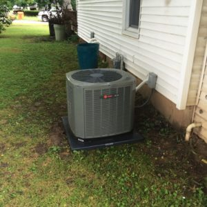 Trane AC unit installed by Jon Wayne Heating & Air in Springfield, Missouri