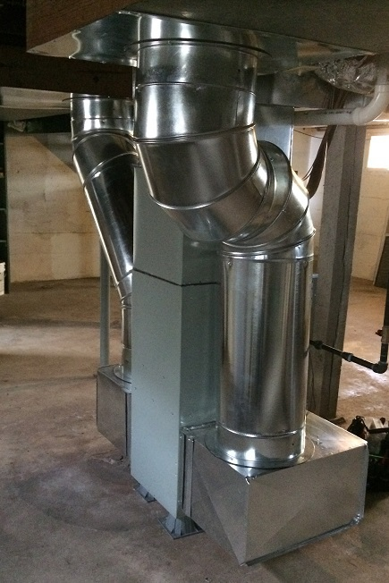 New furnace installed in basement of Springfield, MO home