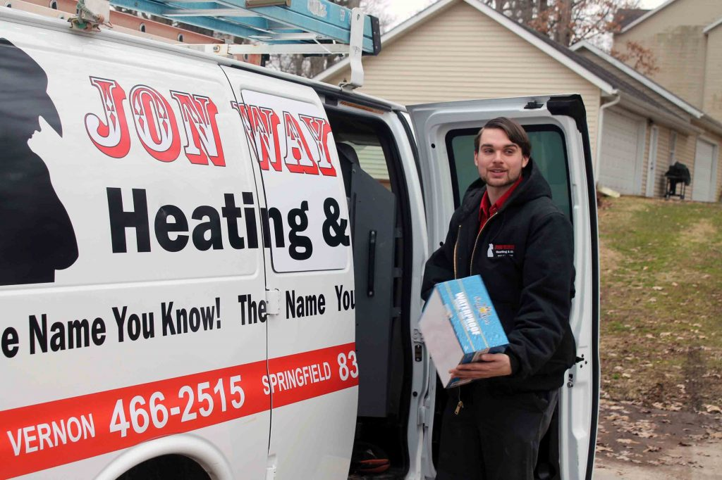 Jon Wayne van & heating and ac technician in Mt Vernon