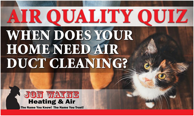 Air Quality – When is it time to clean your air ducts quiz