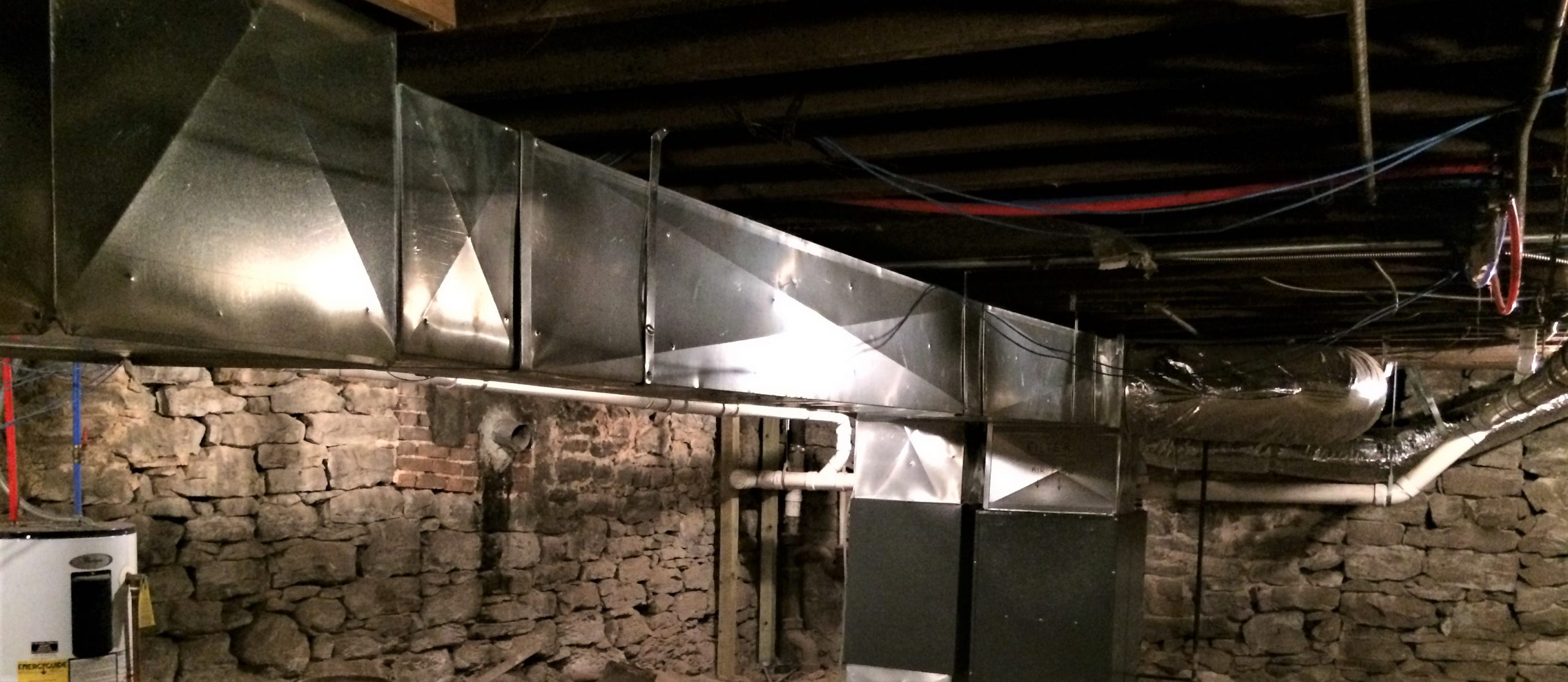 air ducts in Springfield basement, air duct cleaning improves air quality