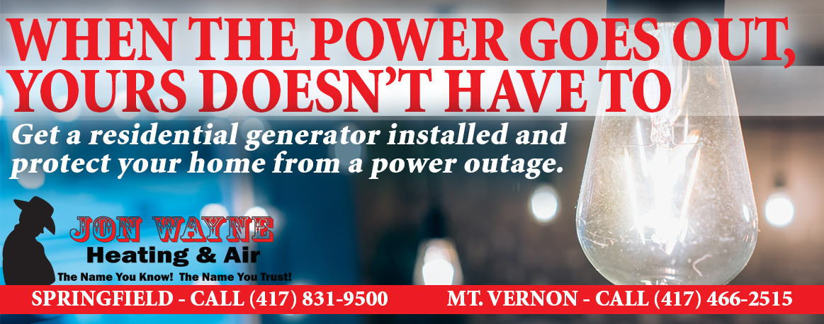 Generators for a Willard home to keep you safe during a power outtage