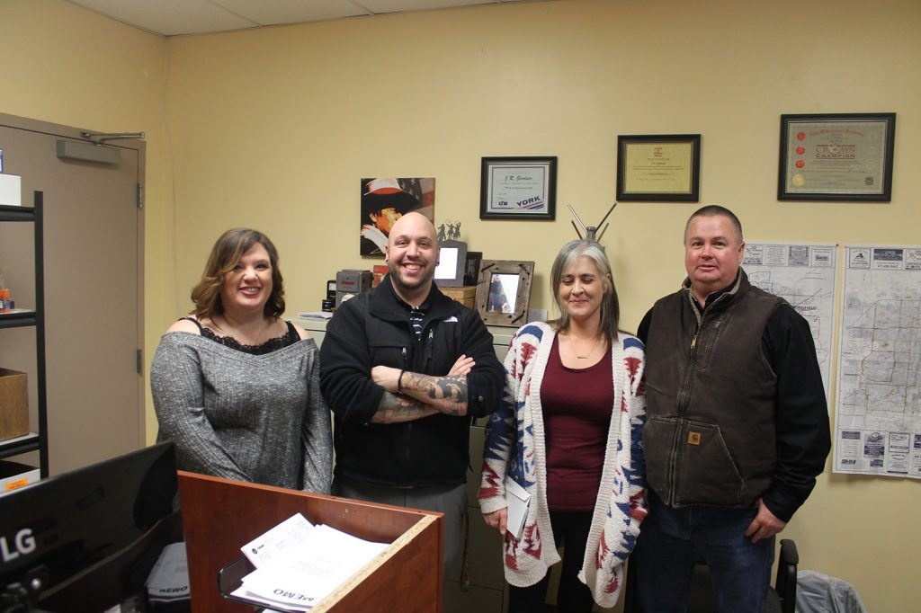 Owner and staff of Jon Wayne at Mt Vernon office