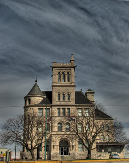 Historic building in downtown Springfield, MO